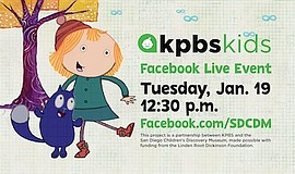 Promotional photo for KPBS Kids Event: Peg + Cat. Courtes...