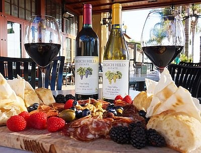 Promotional photo for Wine And Charcuterie Pairing, court...