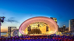 Promotional photo of The Shell by Jenna Selby / courtesy of the San Diego Sym...
