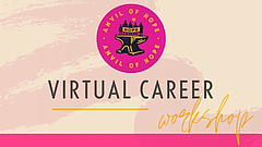 Promotional photo for Virtual Career Workshop. Courtesy of Anvil Of Hope.
