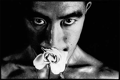 """The photograph, """"Ordeal by Roses #32 (1961)"""" a gelatin si..."""