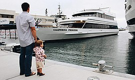Promotional photo for Father's Day Cruises. Courtesy of F...