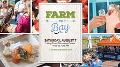 Promotional graphic for Farm to Bay. Courtesy of Living Coast Discovery Center