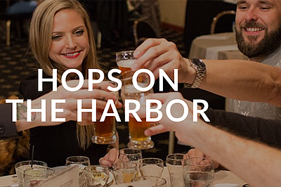 Promotional graphic for Hops On The Harbor. Courtesy of  ...
