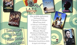 Promo graphic for Foreign Language Film Night Series (F...