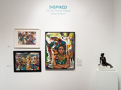 """Promotional photo of artwork from """"Inspired: Selections F..."""