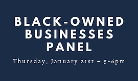 Promotional photo for Black-Owned Businesses Panel. Court...