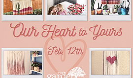 """Promotional graphic for """"Our Heart To Yours"""". Courtesy of..."""