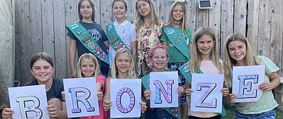 Promotional photo for Girl Scout Troop Virtual Drive For ...