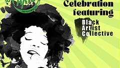 Promotional graphic for Summer of AXIS Juneteenth Celebration. Courtesy of SD...