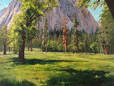 """Promotional photo of artwork """"Springtime in Yosemite"""" by ..."""