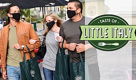 Promo graphic for The 13th Annual Taste Of Little Italy