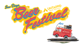 Promotional graphic for the San Diego Untappd Beer Festiv...