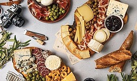 Promotional photo of some cheese boards. Courtesy of Murr...
