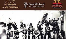 Promotional graphic for Danza Mexi'cayotl courtesy of Cen...