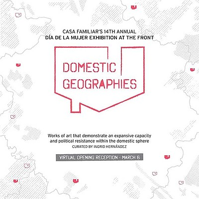 Promotional graphic for Domestic Geographies courtesy of ...