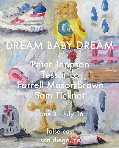 Promotional graphic for Dream Baby Dream courtesy of Fals...