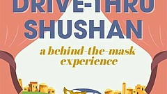 Promotional graphic for the Drive-Thru Shushan courtesy of San Diego REP, The...