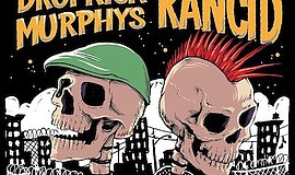 Promotional graphic for the Dropkick Murphys And Rancid B...