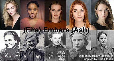 "Promotional graphic for ""(Fire) Embers (Ash)"" courtesy of..."