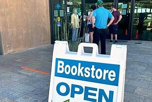 Promotional photo for Encinitas Library Friends Bookstore...