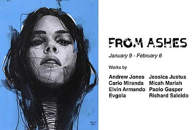 """Promotional graphic for """"From Ashes"""" exhibition courtesy ..."""