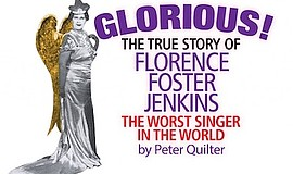 Promo graphic for Glorious By Peter Quilter