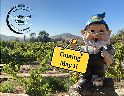 Promotional photo for the Gnome Scavenger Hunt. Courtesy ...