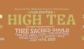 Promotional graphic for High Tea courtesy of The Hill Str...