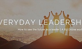 Promo graphic for How To See The Future As A Leader