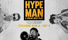 Promo graphic for 'Hype Man': A Break Beat Play