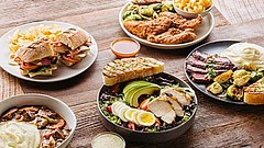 Selection of craveable, wholesome, meals from Urban Plates. Courtesy of Urban...