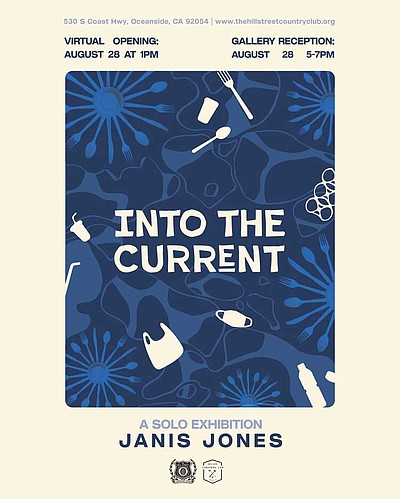 """Promotional graphic for """"Into The Current"""" courtesy of Th..."""