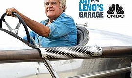 Promo graphic for Jay Leno Garage Tour Opportunity Drawing