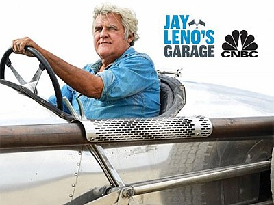 Promotional graphic for the Jay Leno Garage Tour Opportun...