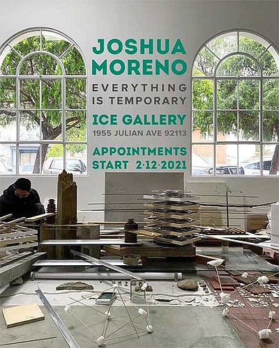 "Promotional graphic for Joshua Moreno's ""Everything is Te..."