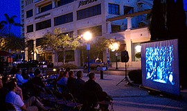 Promotional photo for the Little Italy Summer Film Festival