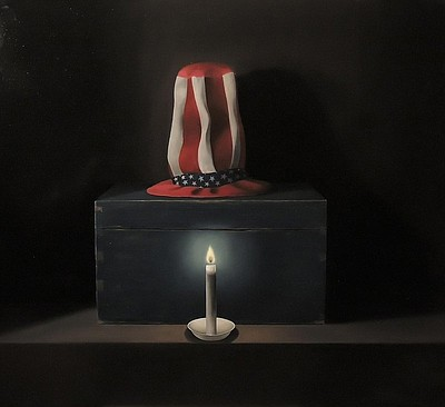 """Photograph of """"The Flame,"""" courtesy of Mark Bryce."""