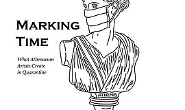 """Promotional graphic for """"Marking Time"""" courtesy of the At..."""
