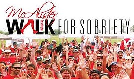 Promotional photo for 9th Annual 5K Walk For Sobriety, co...