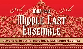 Promo graphic for Grossmont Middle East Ensemble