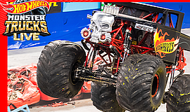 Promotional photo for Hot Wheels Monster Trucks Live, cou...
