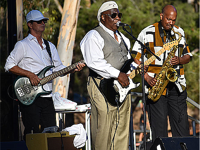 Promotional photo of Bill Magee Blues Band. Courtesy of T...
