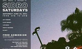 Promotional graphic for Sidro Saturdays courtesy of The F...