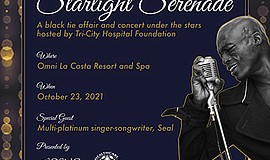 Promotional graphic for the 41st Annual Starlight Serenad...