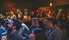 Promotional photo for Stand-up Comedy @Whistle Stop Bar. ...