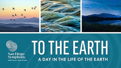 """Promotional graphic for """"To The Earth"""" courtesy of The Sa..."""
