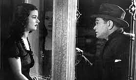"""Joan Bennett and  Edward G. Robinson in """"The Woman in the..."""