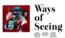"""Promotional graphic for """"Ways of Seeing"""" courtesy of Thum..."""