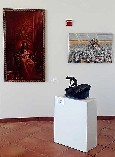 Promotional photograph of the January exhibition courtesy...